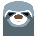 animal, animal face, cartoon, hedgehog, hedgehog face, linear, linear animal icon