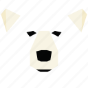 animal, animal face, bear, bear face, cartoon, linear animal icon
