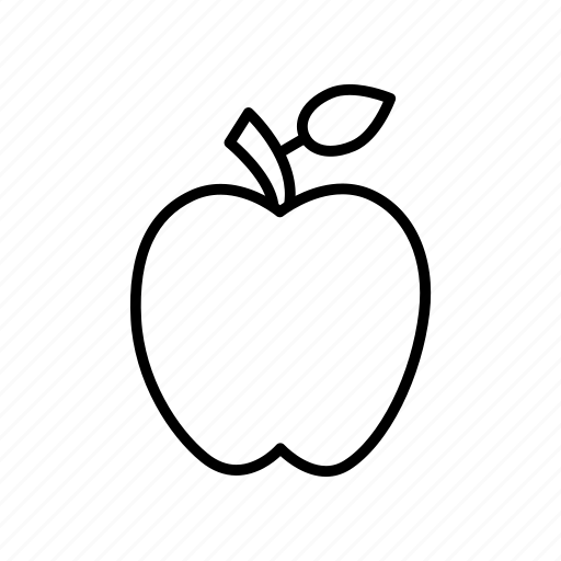 apple, diet, fruit, healthy icon