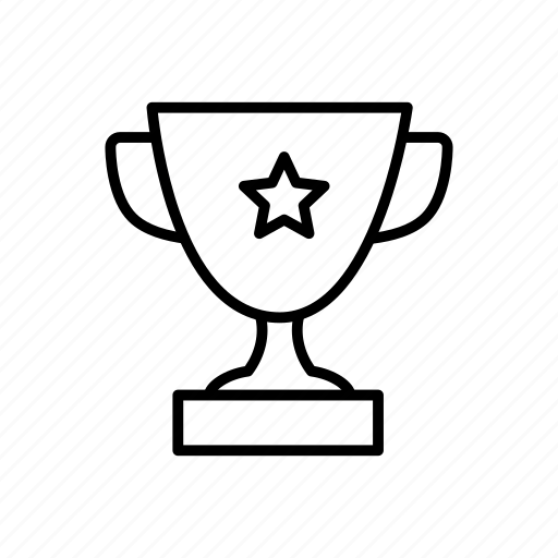 bowl, competition, cup, sport, star, victory, winner icon
