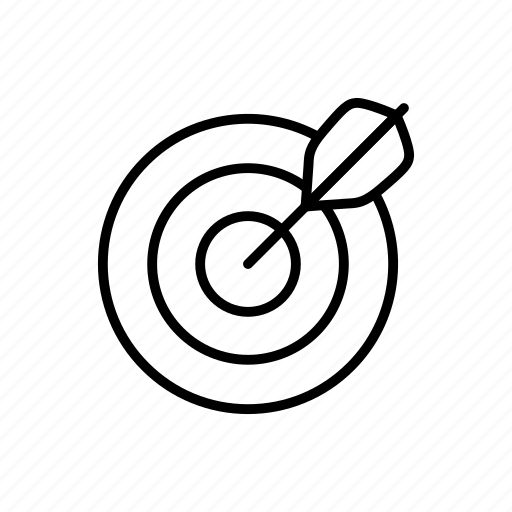 aim, darts, sport, target icon