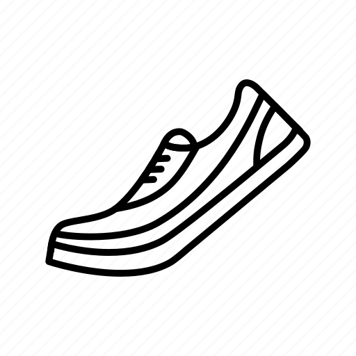 running, shoe, sneaker, sport, trainers icon