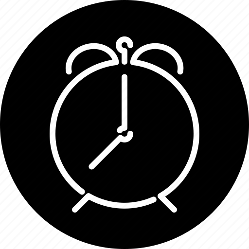 alarm clock, business, clock, office, schedule, timer icon
