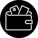briefcase, business, credit card, finance, money, payment, wallet icon