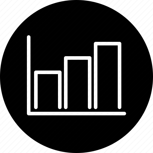 bar graph, business, chart, finance, graph, office, statistics icon