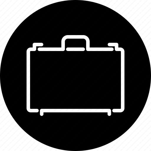 briefcase, business, finance, office, suitcase, travel icon