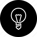 bulb, business, creative, finance, idea, lamp, light bulb icon