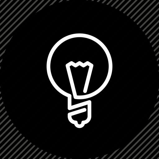 bulb, business, creative, finance, idea, lamp, light bulb icon