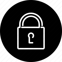 business, closed, lock, privacy, private, secure, security icon