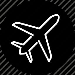 airplane, business, global, plane, transportation, travel icon