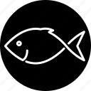 animal, fish, food, sea life, seafood icon