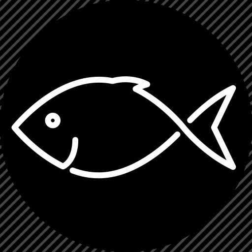 animal, fish, food, sea life, seafood icon