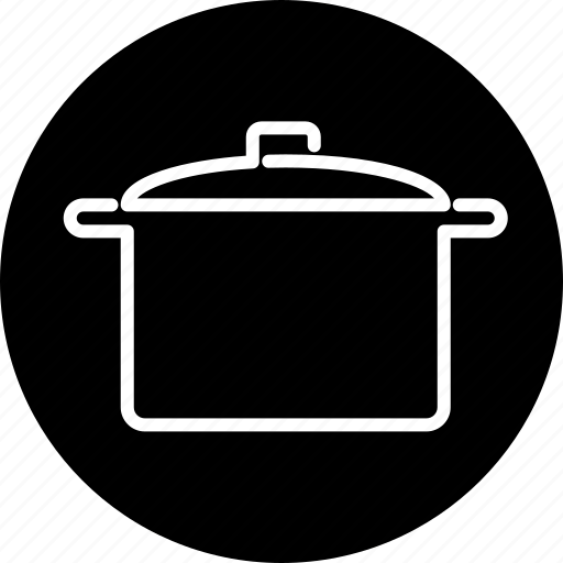 casserole, cooking, equipment, household, kitchen, pot, utensil icon
