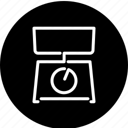 cooking, equipment, household, kitchen, scales, utensil icon