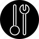 cooking, cutlery, household, kitchen, salad, spoon, utensil icon