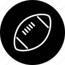 american, ball, egg, equipment, football, sports icon
