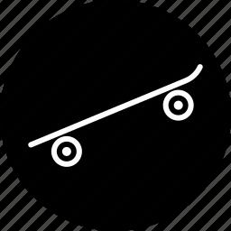 equipment, fun sport, skateboard, skating, sports icon