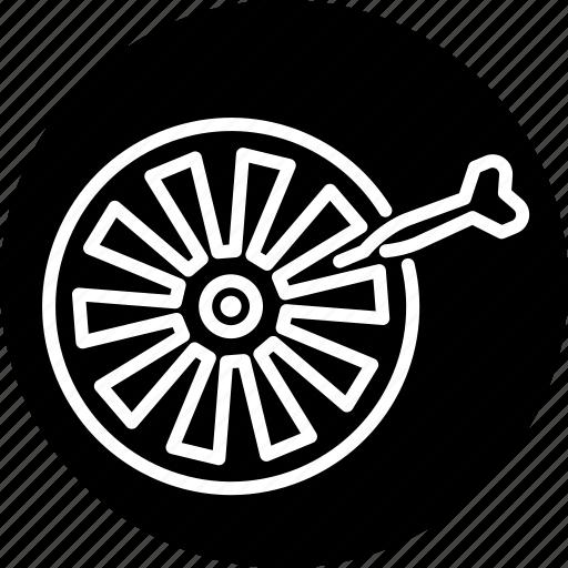 dart, darts, equipment, pub sports, sports, target icon