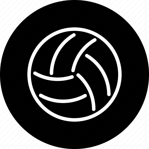 ball, equipment, handball, sports, team sports, volleyball icon