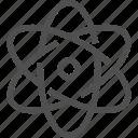 atom, electron, nucleus, proton, science, structure icon