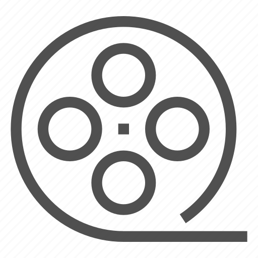 film, filmstrip, movie, recording, reel, roll, video icon