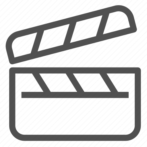 action, cinema, clapper, clapperboard, cut, film, movie icon
