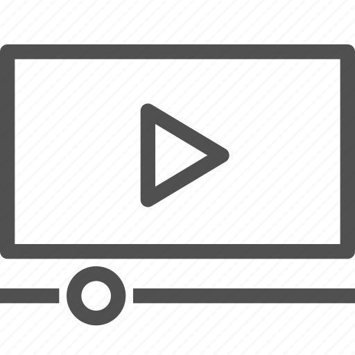 cinema, film, media, movie, multimedia, play, video icon