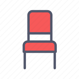 chair, decoration, furniture, sitting place icon