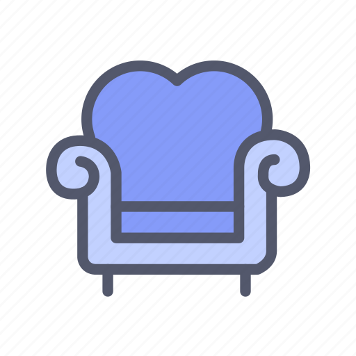 couch, decoration, furniture, interior, sofa icon