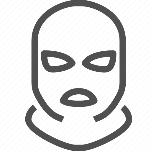 crime, criminal, face, mafia, robbery, thief, violation icon