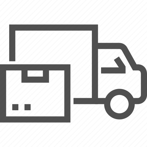 car, delivery, lorry, parcel, shipping, transport, truck icon