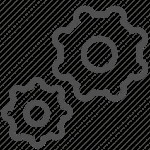 bicycle, cogwheel, gears, gearwheel, group, motion, setup icon