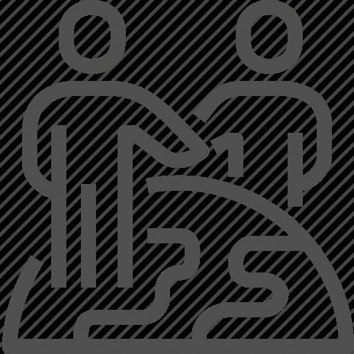 agreement, businessman, communication, global, handshake, partnership, transborder icon