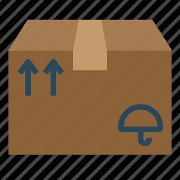 box, mailing, package, parcel, premise, premiss, sending icon