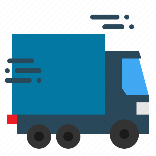 Van, car, shipping, delivery, truck, lorry, transport icon
