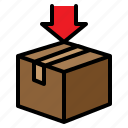 box, boxing, pack, packaging, parcel, premiss, wrapping icon