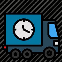box, calendar, parcels, schedule, sending, syllabus, timetable icon