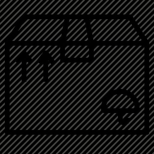 Box, mailing, package, parcel, premise, premiss, sending icon - Download on Iconfinder