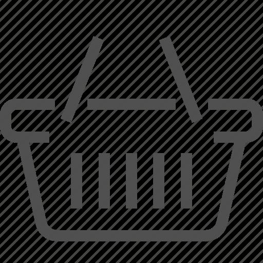 basket, cart, e-commerce, shop, shopping bag, store icon