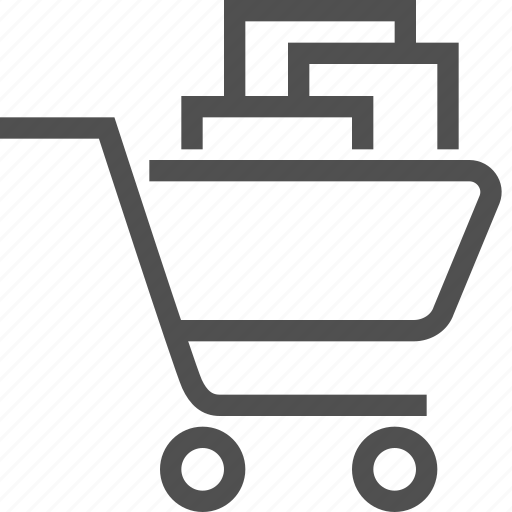 basket, cart, e-commerce, purchases, shop, shopping, store icon