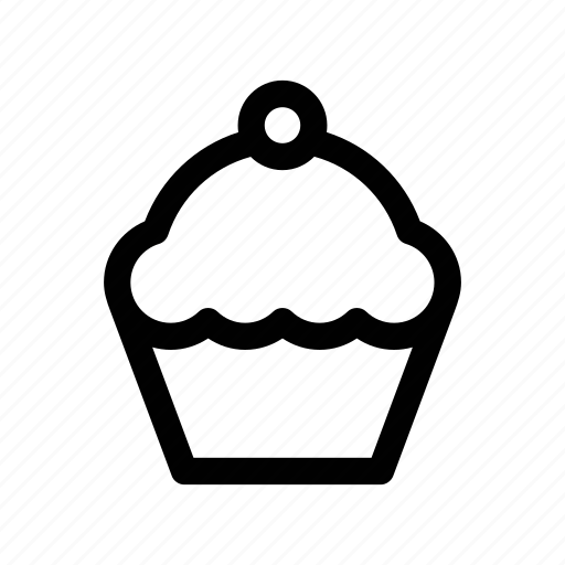 cake, cup, cupcake, food, treat icon