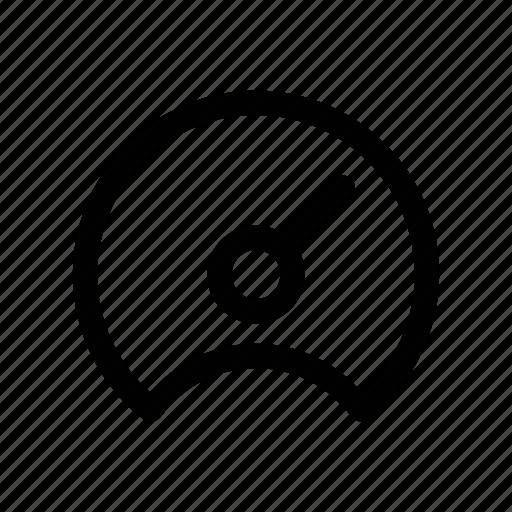 dashboard, indicator, meter, performance, speed icon