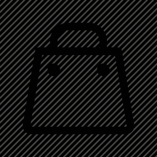 bag, basket, cart, shop, tote icon