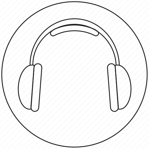 audio, headphones, multimedia, music, sound icon