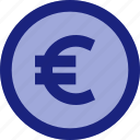 business, currency, euro, finance, money, payment icon