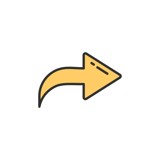 arrow, post, share, update icon