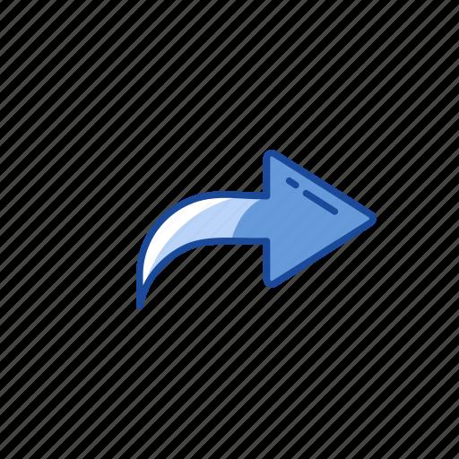 arrow, post, share, upload icon