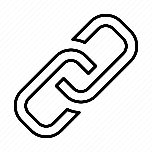 chain, connection, hyperlink, internet, link, url, web icon