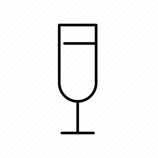 alcohol, champagne, drink, glass, wine, wineglass icon