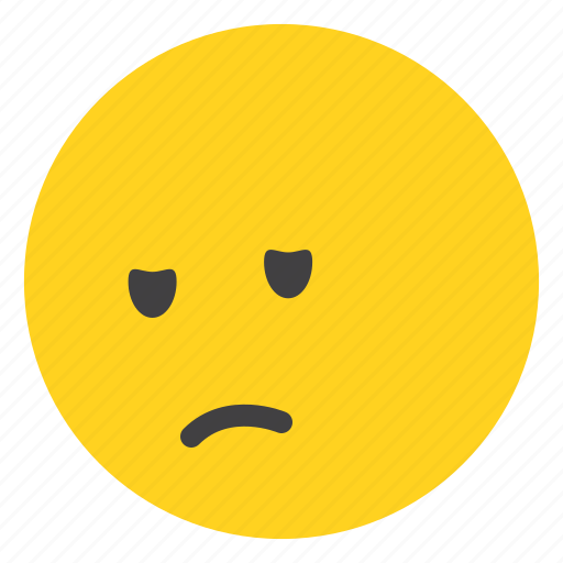 avater, emoji, emoticon, face, happy, sleepy icon